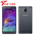 100% Original Unlocked Samsung Galaxy Note 4 N910F Cell phone 16MP Camera 3GB RAM 32GB ROM 3G/4G 5.7'' Touch Refurbished Phone