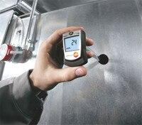 Мини тепловой ручной анемометр Высокая точность цифровой измеритель потока воздуха