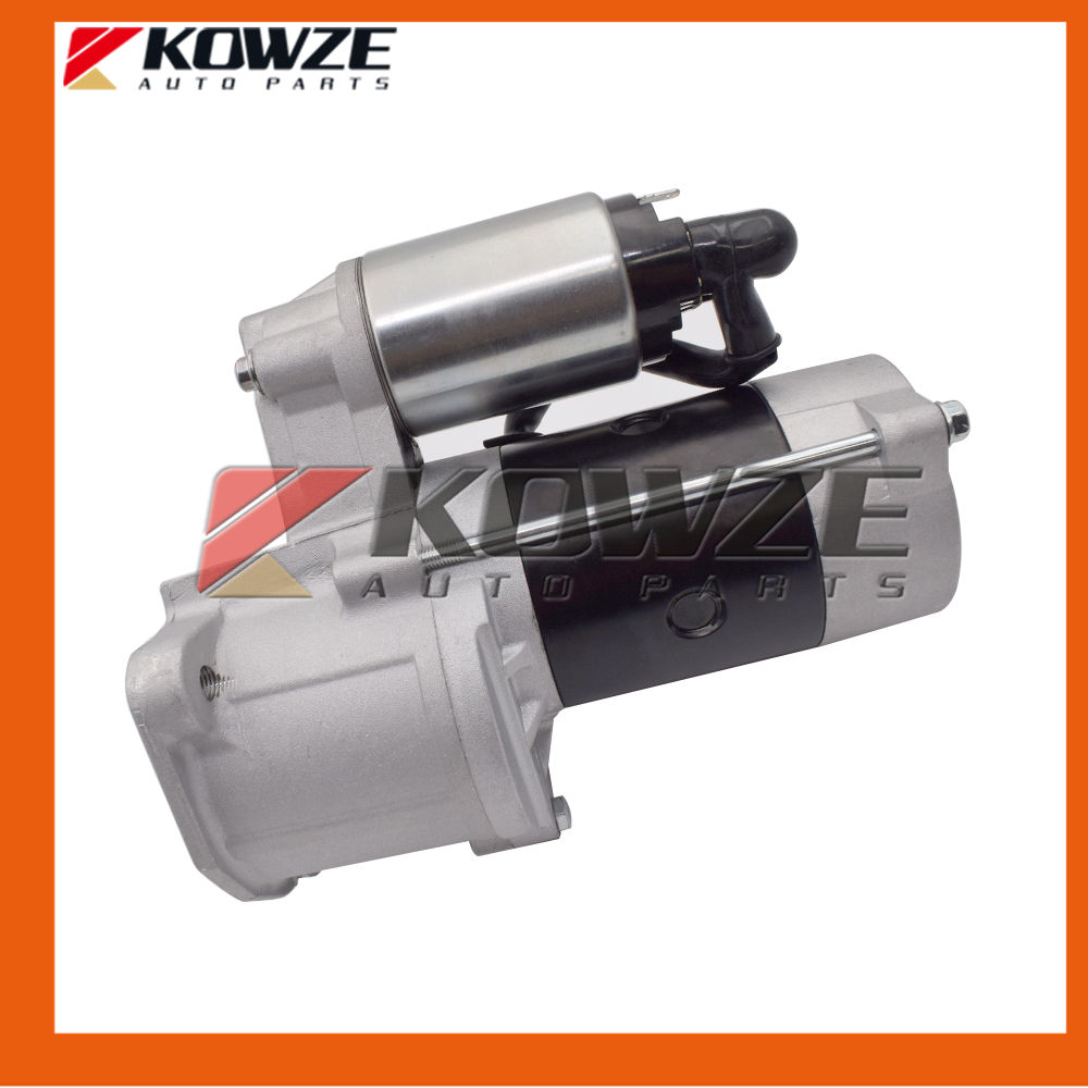 NEW Motor Starter 2.0kw For Mitsubishi Montero Shogun PAJERO I II Triton L200 L300 2.5L 4D56 MD164975 12v 4kw new starter motor for ford f e series tg228000 8420