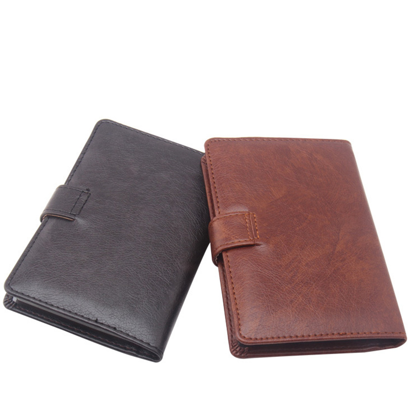 bc89280d1ec1 Passport Cover Travel Wallets with Credit Card ID Card Holder Hasp Closure Leather  Passport Case Travel Wallets for Women Men