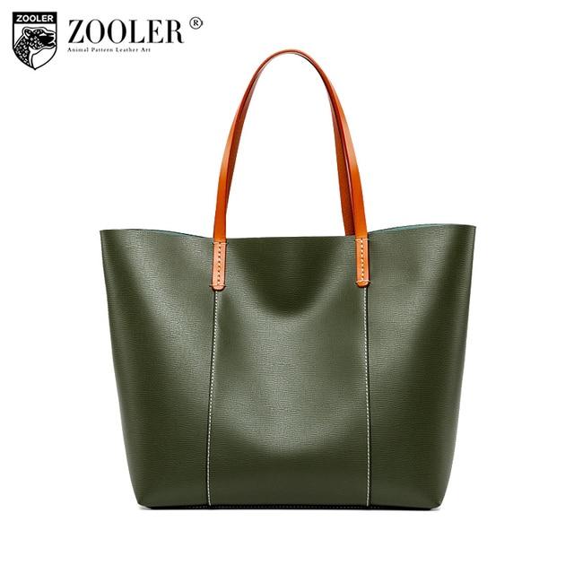 abe392a4f0 sales hot ZOOLER 2018 NEW woman leather bag tote handbags bolsa feminina  functional travel bag woman bags