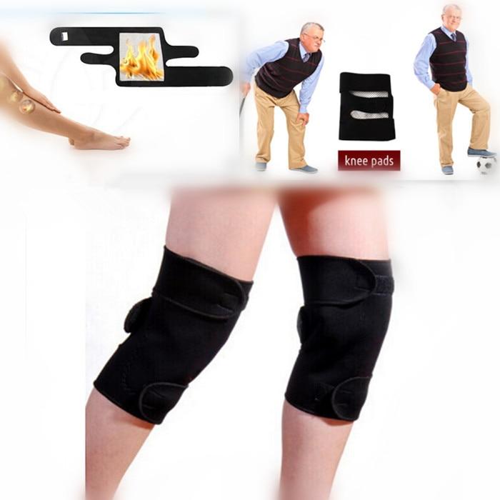1 X Tourmaline Knäskydd Spontan Knäskydd Massager Magnetisk Terapi - Sjukvård - Foto 3