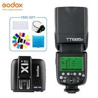 Godox TT685 TT685F Вспышка Speedlite Беспроводная ttl + X1T F передатчик Беспроводная вспышка Trigge для камеры Fujifilm X Pro2/X T20/X T1/X