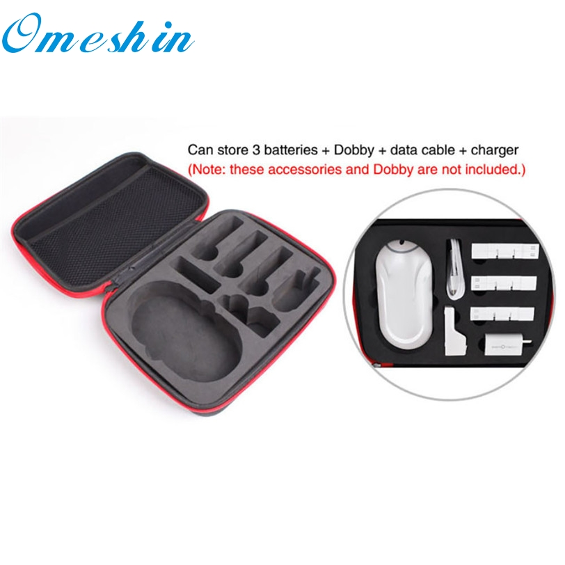 Drone backpack Factory Price drop ship Battery Handheld Bag Case Container For Zerotech Dobby Drone RC Parts Accessory S40 DB16 zerotech dobby pu bag