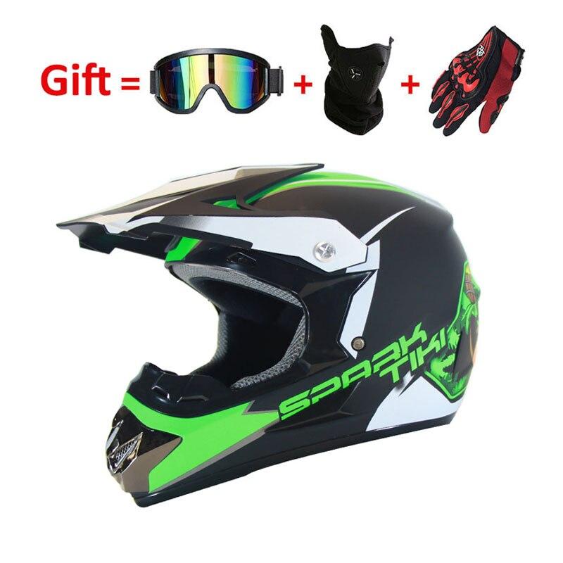 クロスオートバイヘルメットフルフェイスヘルメットダウンヒル ATV MTB dh ロードレースモトヘルメットドット 3 ギフト  グループ上の 自動車 &バイク からの ヘルメット の中 1