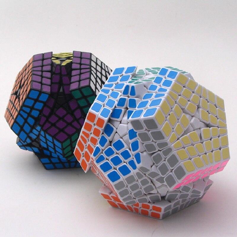 2018 nouveau Shengshou Tegaminx Puzzle Cube professionnel 6x6x6 PVC & mat autocollants Cubo Puzzle vitesse classique jouets éducatifs