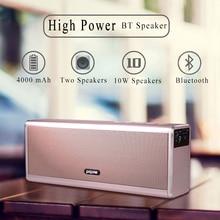 купить HAOBA HIFI Wireless Bluetooth Speaker 20W Stereo Super Bass Caixa Sound Box Hand Free for Phone power bank 20W 4000mah дешево