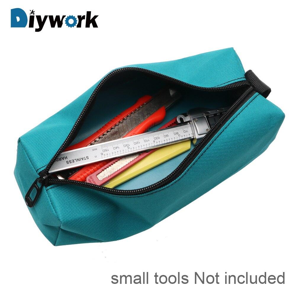 DIYWORK Tool Bag Hand Storage Bag For Screws Nails Drill Bit Metal Parts Oxford Tools Packaging Portable Waterproof Organizer
