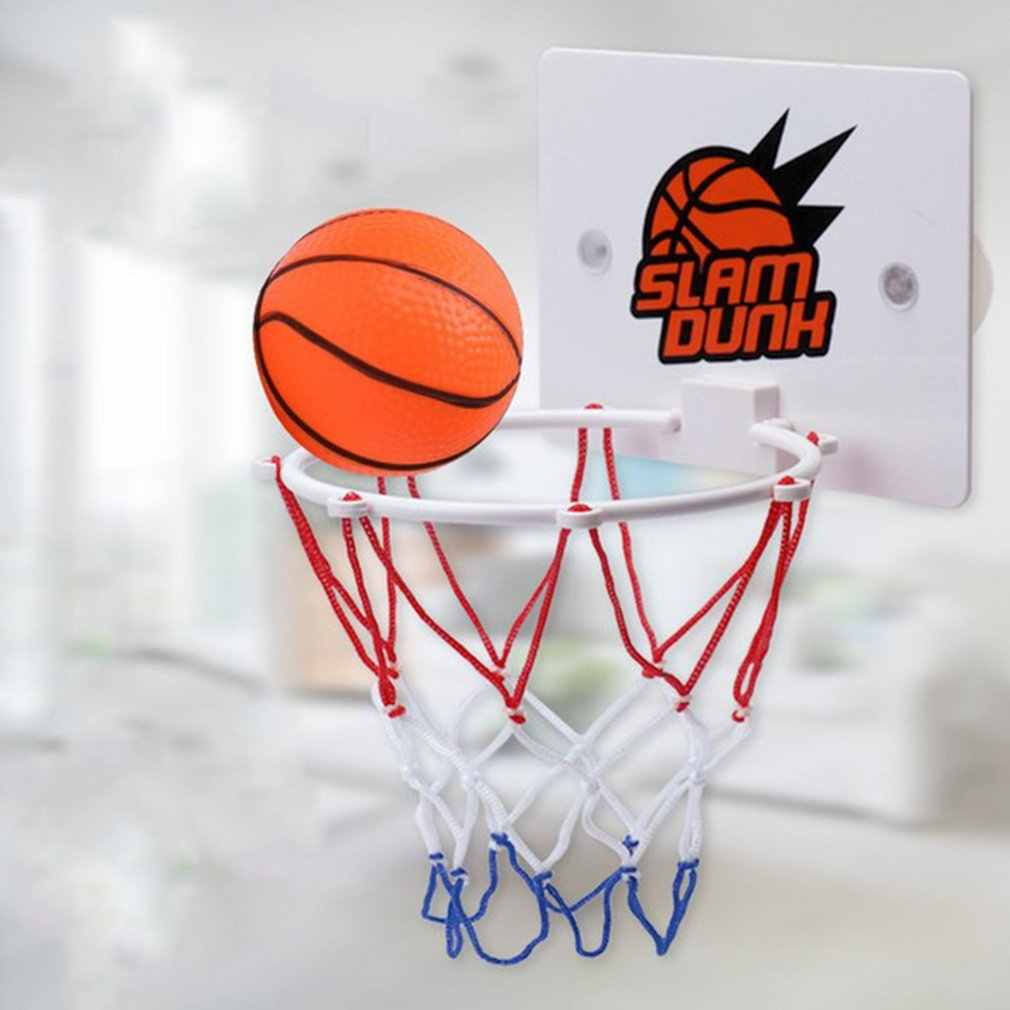 Portable Funny Mini Basketball Hoop Toys Kit Indoor Home Basketball Fans Sports Game Toy Set For Kids Children Adults Play Toy