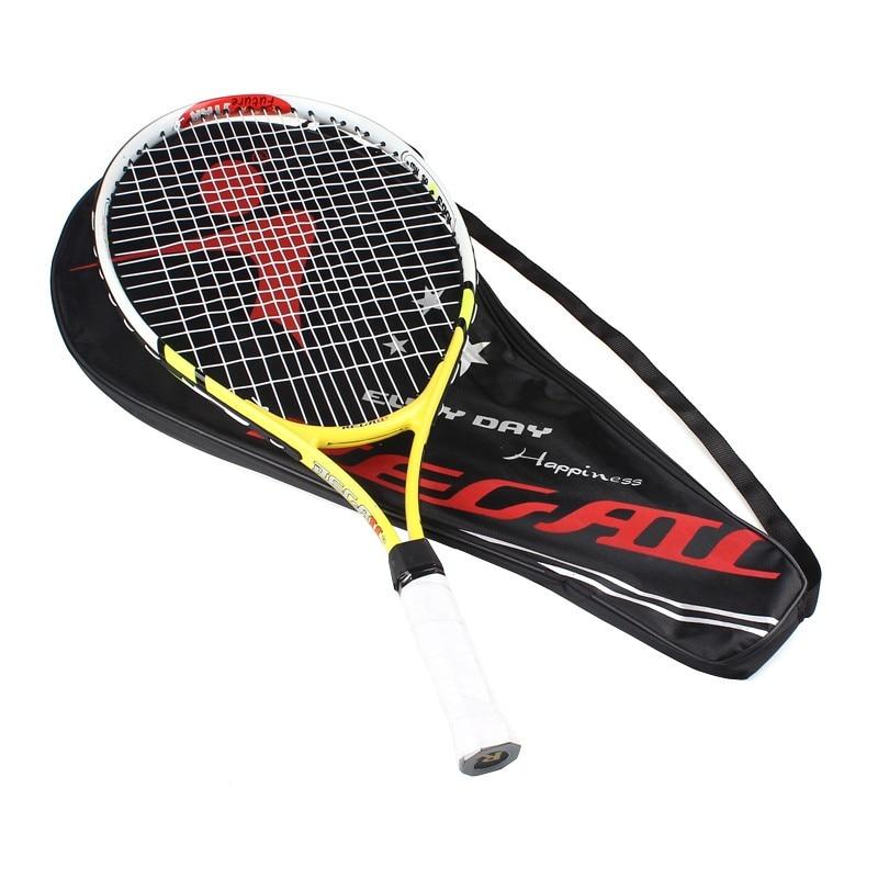 Kualiti Tinggi 1x Baru Tenis Tenis Racquet Raquette Raket Latihan - Raket