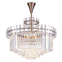 American neo classical style crystal lamp simple European postmodern simple designer creative personality bedroom restaurant