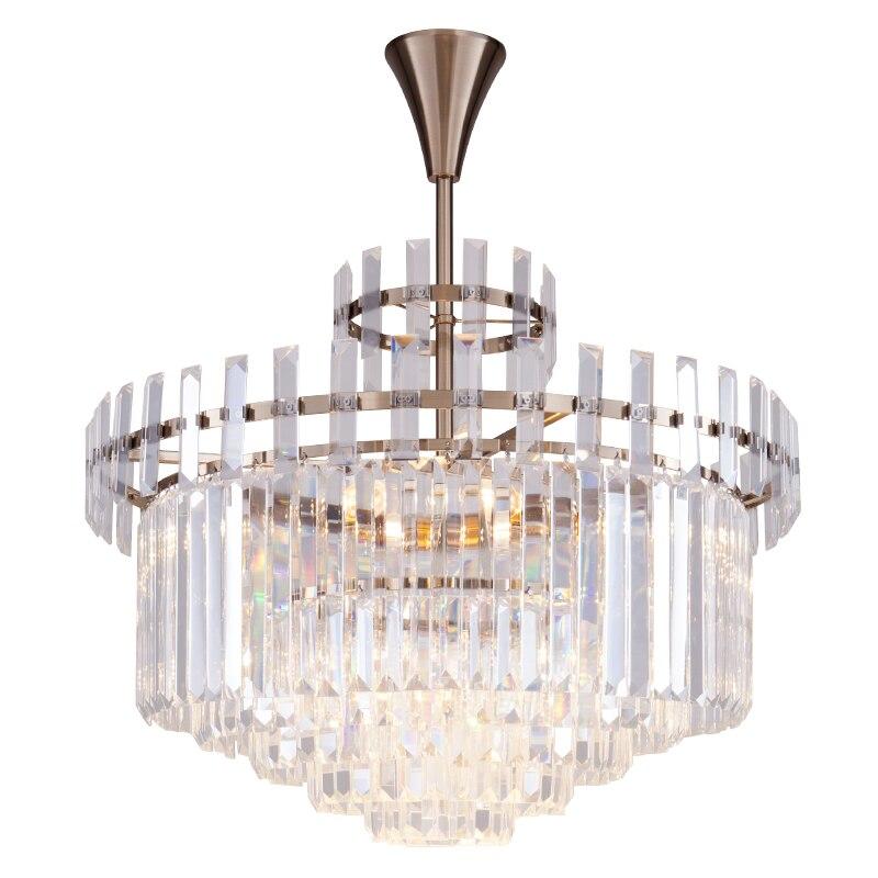 American neo-classical style crystal lamp simple European postmodern simple designer creative personality bedroom restaurant