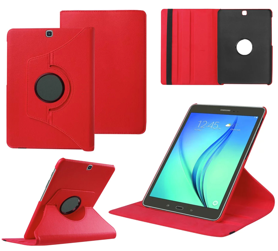 New 360 Rotating Case For Samsung Galaxy Tab S2 9.7 inch T810 T815 Tablet PU Leather Case Stand Cover #S0078