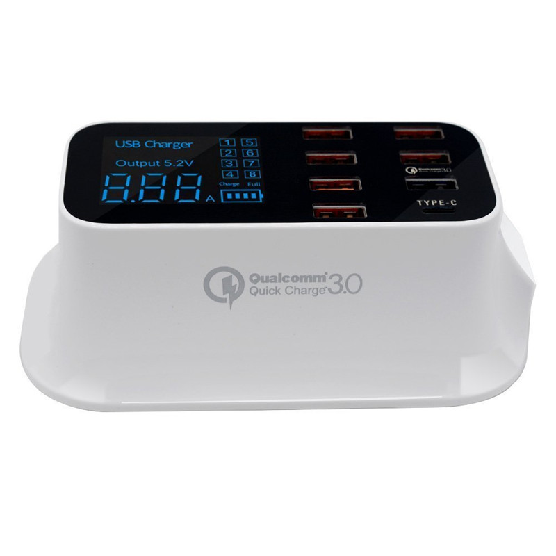 Qualcomm quick charger 3.0 type c fast charging USB charger (6)