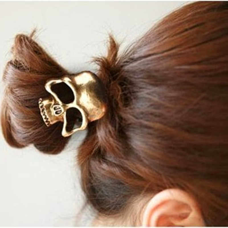 vintage Skull Hair Band Jewelry personality hair rope HAIR BAND DISCOUNT New style accessories