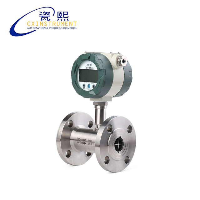 DN40 Liquid turbine flow meter LCD display with4 20mA output, flange  connection,flowmeter-in Flow Meters from Tools on Aliexpress Alibaba  Group