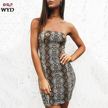 Summer Sexy Mini Slim Dress 2019 Women Casual Boho Snakeskin Print Beach Backless Dress Fashion Sexy Club Party Dressse Vestidos цена и фото