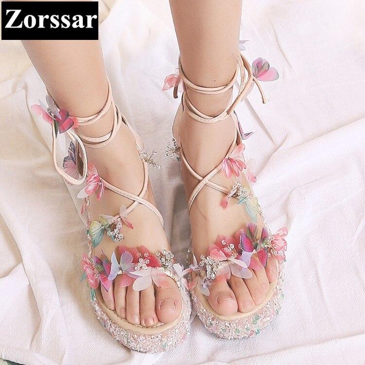 ФОТО Women Summer shoes high heel rhinestone open toe sandals heel woman party shoes 2017 Fashion Cross strap womens Gladiator shoes