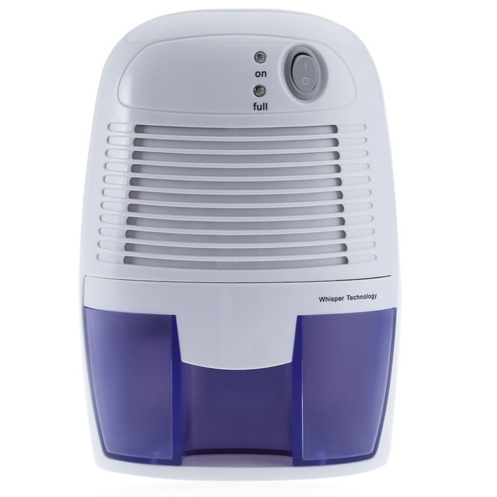 Mini Dehumidifier Portable Moisture Absorber 500ml Moisture Absorbing Air Dryer With Auto-Off LED Indicator Air Dehumidifier