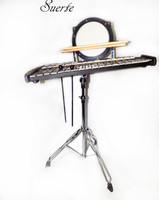 Combo Glockenspiel/Practice drum with Carrier and Stick Percussion musical instruments professional