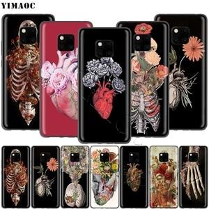 YIMAOC медицинский человеческий орган мозга Меридиан почек чехол для Huawei Honor Mate P smart Y7 Y9 8C 30 20 10 8x Nova 3i 3 Lite Pro