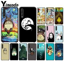 Yinuoda Totoro Spirited Away Ghibli Miyazaki Phone Case for Huawei Mate10 Lite P20 Pro P9 P10 Plus Mate9 10 Honor 10 View 10(China)