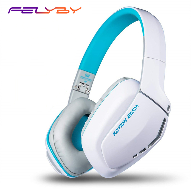 FELYBY B3506 Wireless Bluetooth Headphones Headset Foldable Gaming Headset V4.1 with Mic for PS4 PC Mac Smartphones Computers