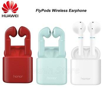חדש HUAWEI honor FlyPods FlyPods פרו FlyPods לייט Bluetooth אלחוטי אוזניות עם מיקרופון מוסיקה מגע עמיד למים דינמי אוזניות