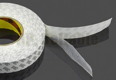 1x53 мм* 50 м 3M9080 белая двусторонняя клейкая лента для цифровых, электронных дисплеев, фиксации панели, Бонд