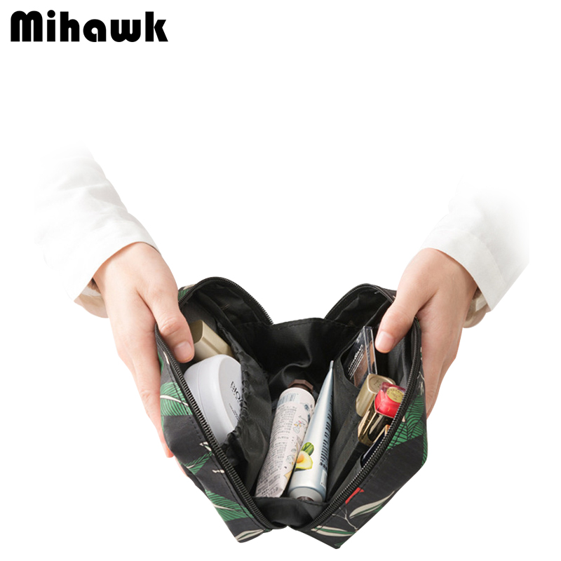 Mini Vanity Cosmetic Bag Functional Makeup Pouch Case Beautician Necessarie Toiletry Kit Travel Organizer Accessories Supplies big cosmetic bag vanity case travel organizer functional makeup box toiletry storage beautician necessaire accessories supply