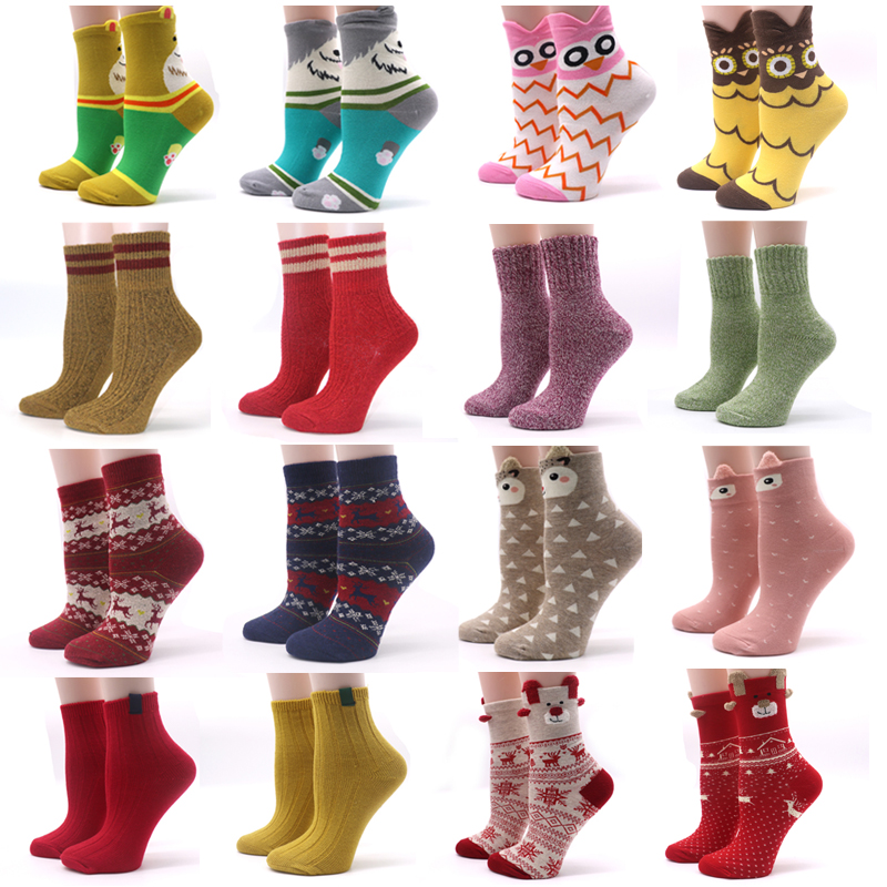 1Pair Cute Women's Socks