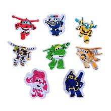цена на Hot Super Pan combination embroidery cloth stickers children like children's clothing bag diy decorative cloth stickers D-025
