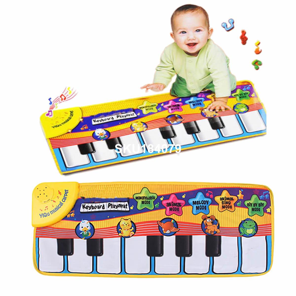 Children Piano Keyboard Music Learn Singing Gym Carpet Touch font b Play b font font b