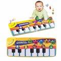 Crianças teclado de Piano música aprender cantando ginásio tapete toque jogar esteiras cobertor crianças educacional brinquedo de presente para crianças brinquedo do bebê