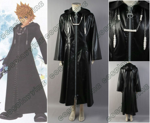 Kingdom Hearts Organization XIII Cosplay Costume For Adult women men For Halloween Carnival Sets