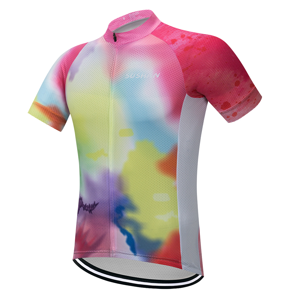 SUSHAN Sommer Radtrikot Atmungsaktiv Mountian Fahrrad Bekleidung Bike Wear Kleidung Maillot Ropa Ciclismo Radfahren Kleidung