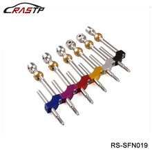 RASTP Adjustable Heigh Dual Bend Stainless Steel Short Shifter For Honda Civic Integra CRX B16 B18 B20 D16 RS-SFN019