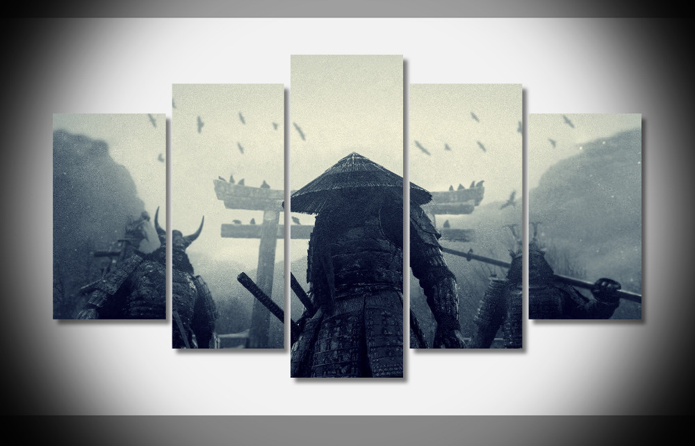 2653 samurai warriors sucker punch movie Poster Poster Framed Gallery wrap art print home wall decor wall picture Finished