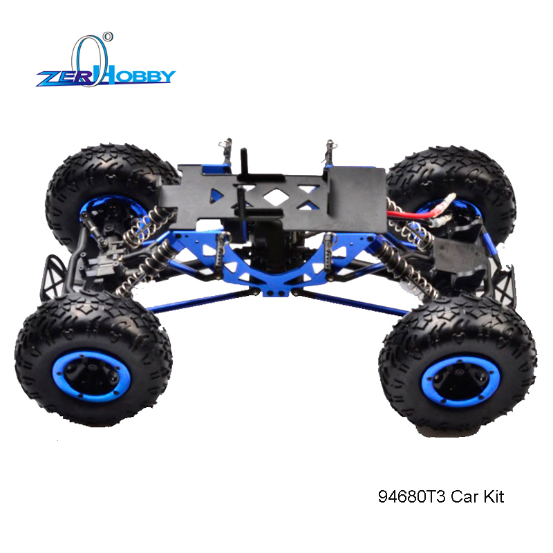 HSP RACING RC CAR KIT ONLY 94680T3 1/16 KULAK ELECTRIC 4WD OFF ROAD ROCK CRAWLER WITHOUT ELECTRONICS (94680T3 CAR KIT) hsp rc car 1 10 electric power remote control car 94601pro 4wd off road short course truck rtr similar redcat himoto racing