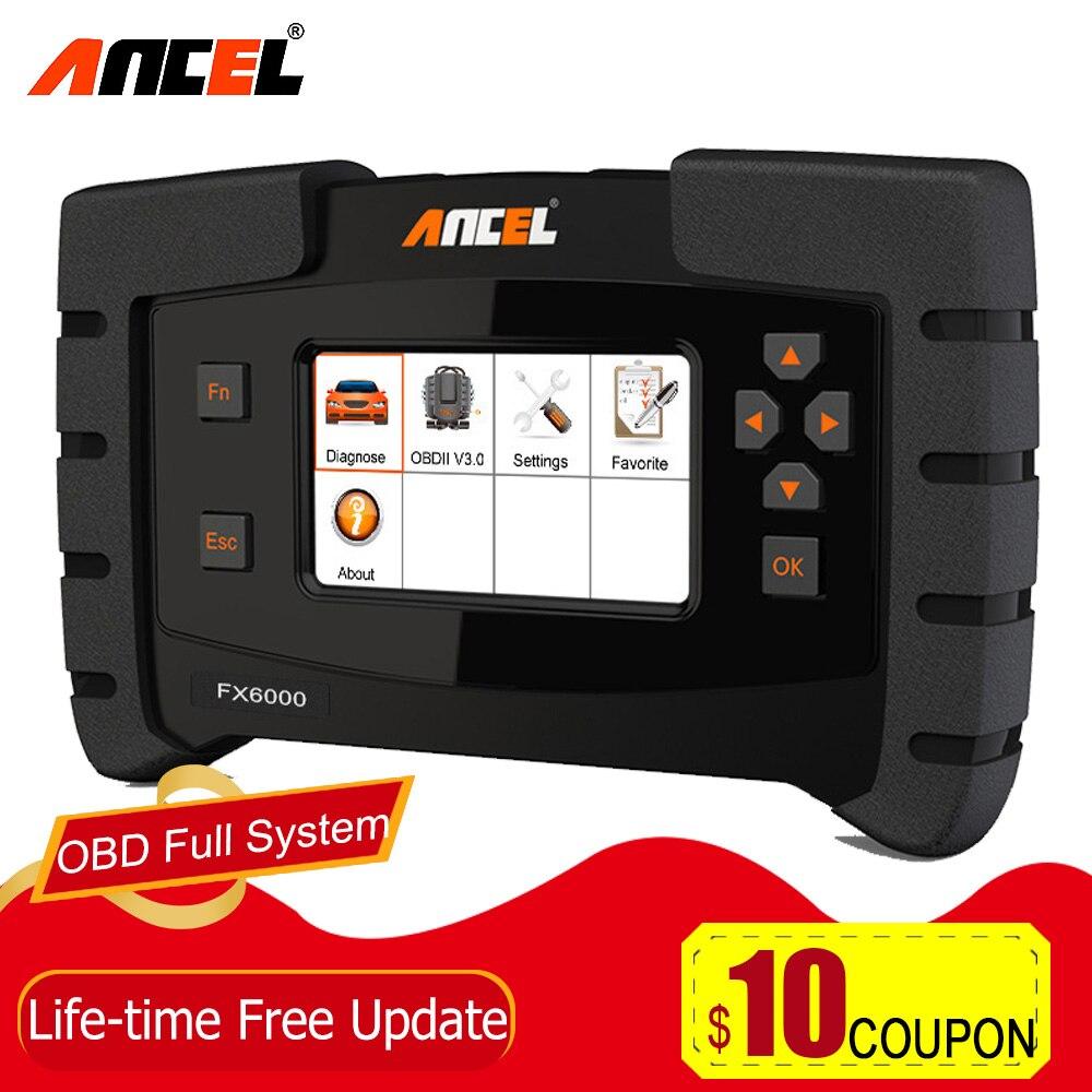 Ancel FX6000 OBD2 Full System Diagnostic Tool for Car EPB