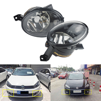 ANGRONG 2x Front Fog Light Lamps OEM Replacement Left & Right No Bulb For VW Golf MK6 JETTA EOS CADDY TIGUAN BEETLE