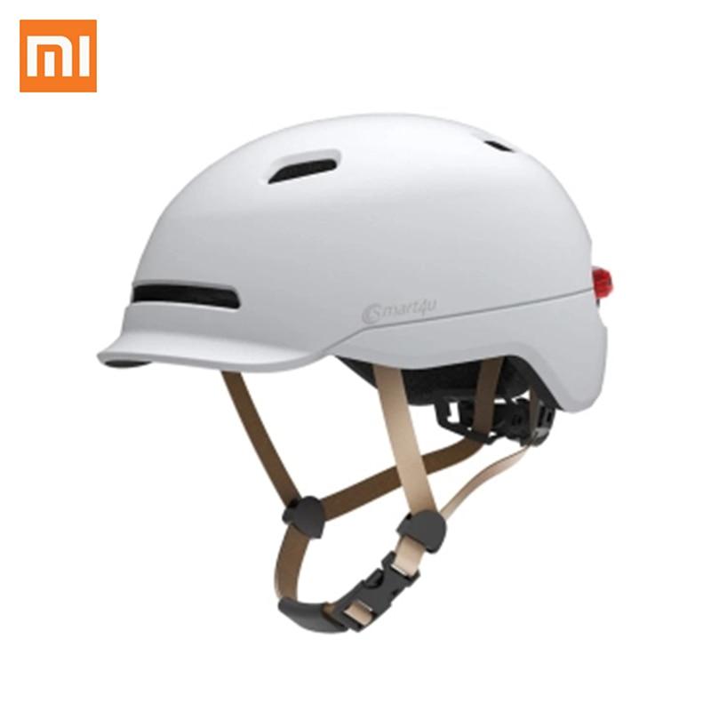 Casques Flash mat longue utilisation casque rétro lumière montagne route Scooter pour hommes femmes nouveau Xiaomi Smart4u étanche vélo intelligent