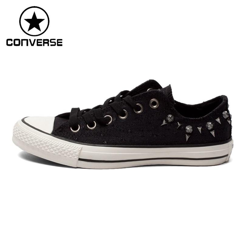 Prix pour D'origine Converse Femmes de Rivets Chaussures de Skate Toile Chaussures Sneakers