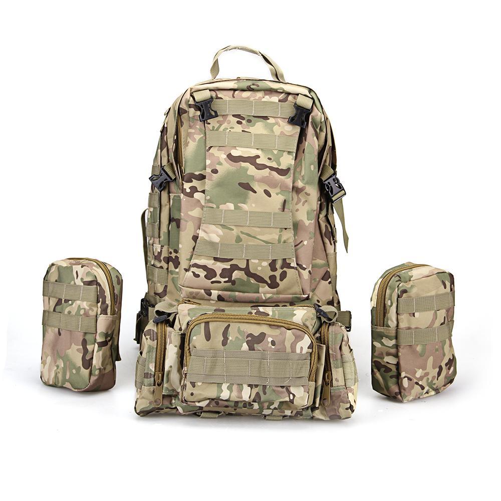 TOMOUNT Outdoor Hiking Backpack 65L Camping Bag Әскери - Спорттық сөмкелер - фото 2