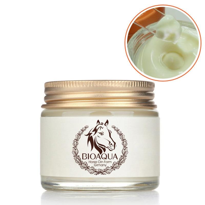 BIOAQUA antiedad Día Crema aceite de caballo ungüento blanqueamiento hidratante Anti arrugas crema cuidado de la piel