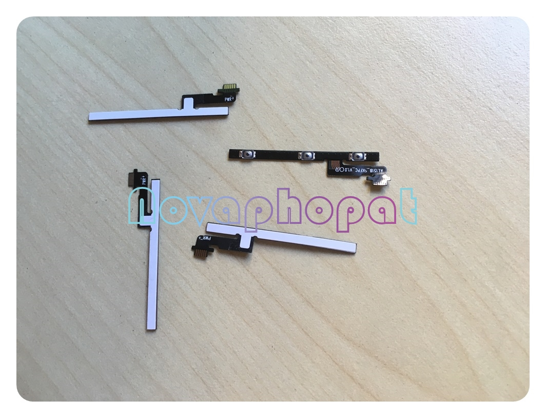 Novaphopat For Meizu M3 Note M681H M681Q / L681h Power On Off Volume Up Down Switch Key Button Flex Cable Replacement +tracking