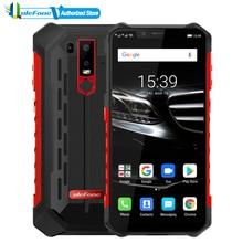 "Osłona ulefone 6E telefon komórkowy Android 9.0 6.2 ""HD Helio P70 octa core 4GB + 64GB NFC face id ładowanie wireless smartfon"