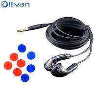 Wholesale 5pcs Lot VE MONK Plus Earphone Venture Electronics Flat Head Earbud In Ear Stereo Earphone