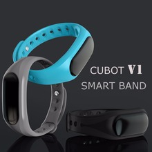 2016 Original CUBOT V1 Smart band bluetooth 4.0 live waterproof support android IOS sports bracelet Pedometer sleep tracker