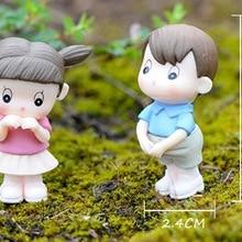 1:12 весы Кукольный дом аксессуары Смола Кукла для влюбленных кукольный домик украшение подарок игрушки для детей